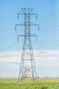 Power Lines Tower Royalty Free Stock Photo - 87466575