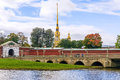 Peter And Paul Fortress In St. Petersburg Royalty Free Stock Photos - 87471828
