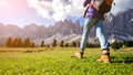 Hiking Boots Stock Photography - 87500012