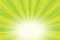 Green Natural Eco Sunrise Pop Art Background Stock Photography - 87508082