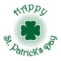 Shamrock Clover. Green Clover Icon Royalty Free Stock Image - 87512996