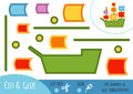 Education Paper Game For Children, Sailing Ship Royalty Free Stock Photography - 87543817
