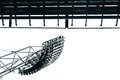 Stadium Lights At Olympic Parc In Munich Stock Photography - 87546182