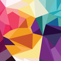 Abstract Colorful Triangle Geometrical Background Stock Photography - 87654252
