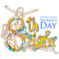 Happy Women S Day Greetings Background Stock Photos - 87668023