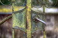 Old Rusty Iron Door Royalty Free Stock Images - 87718959