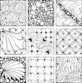 Hand Drawn Zentangle Background For Coloring Page Royalty Free Stock Photos - 87722138