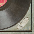 Vintage Turntable Vinyl Record Player Stock Photography - 87735372