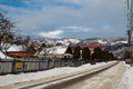 Rural Landscape In Winter, Romania. Royalty Free Stock Photo - 87737335