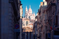 Sacre-Coeur Basilica In The Morning, Paris, France Stock Photo - 87752210