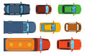 Overhead Top View On Colorful Car Toys Different Pickup Automobile Transport And Collection Wheel Transportation Design Royalty Free Stock Photography - 87759627