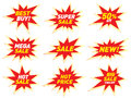Sale Label Price Tag Banner Star Badge Template Sticker Design. Royalty Free Stock Photography - 87814897
