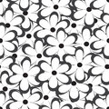 Seamless Pattern. Vector Illustration With Flowers. Vintage Floral Print. Stock Image - 87839341