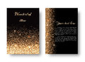 Bling Background With Gold Lights Royalty Free Stock Photo - 87846935