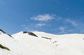 Snow Mountain At Japan Alps Tateyama Kurobe Alpine Route Royalty Free Stock Images - 87877169