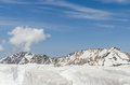 Snow Mountain At Japan Alps Tateyama Kurobe Alpine Route Stock Image - 87877171