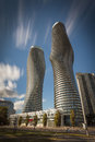 Golden Hour Towers Royalty Free Stock Photos - 87879598