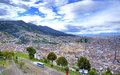 High View Of The City Of Quito Royalty Free Stock Photography - 87884767