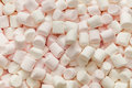 Marshmallows. Background Or Texture Of Mini Marshmallows. Sweet Food Texture. Top View Royalty Free Stock Images - 87898249