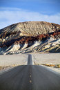 Desert Mountain Road - Death Valley CA Royalty Free Stock Photography - 8794507