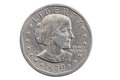 Susan B Anthony Dollar Coin Stock Photography - 87918862