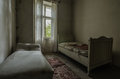 Two Old Beds Royalty Free Stock Image - 87979806