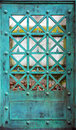 Copper Door With Patina Royalty Free Stock Photo - 87988015