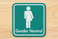 Transgender Sign With Text Gender Neutral Royalty Free Stock Photo - 87994925