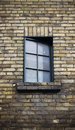 Close Up Of Window On A Weathered Brick Wall Royalty Free Stock Image - 8806836