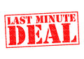 LAST MINUTE DEAL Royalty Free Stock Photography - 88000907