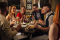 Friends Enjoying A Meal Stock Photography - 88030232