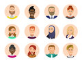 People Avatars Collection Royalty Free Stock Photos - 88054428