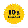 10 Percent Discount Sign Icon. Sale Symbol. Stock Photography - 88070202