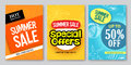 Summer Sale Vector Web Banner Designs And Special Offers Royalty Free Stock Photography - 88076447