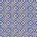 Seamless Tile Pattern Of Ancient Ceramic Tiles Royalty Free Stock Photo - 8810625