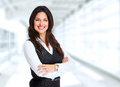 Beautiful Young Business Woman. Royalty Free Stock Images - 88127749