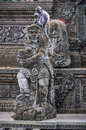 Macaque In The Hindu Temple In Monkey Forest, Ubud, Bali Royalty Free Stock Photos - 88151208