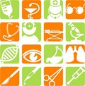 Medical Icons Stock Photography - 8826292