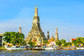 Wat Arun In Bangkok Or Temple Of The Down Stock Image - 88226881