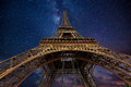 The Eiffel Tower At Night In Paris, France Royalty Free Stock Photos - 88248468