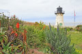 Point Montara Fog Signal And Light Station In Spring Stock Photo - 88291930