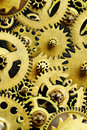 Mechanism From Old Gears Royalty Free Stock Image - 8835256