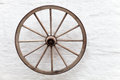 Old Wooden Cart Wheel Royalty Free Stock Photography - 88345717