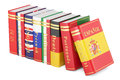 Languages Books, 3D Rendering Stock Photography - 88370542
