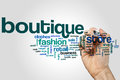 Boutique Word Cloud Stock Photography - 88378682