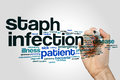 Staph Infection Word Cloud Stock Images - 88381064