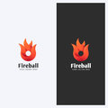 Abstract Fire, Flame Shape Logo Design Template. Corporate Business Theme. Energy, Power Concept. Simple And Clean Style. Royalty Free Stock Photo - 88428085