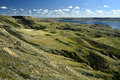 Rolling Hills Lake Diefenbaker Royalty Free Stock Images - 88433919