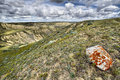 Rolling Hills Lake Diefenbaker Stock Images - 88434514