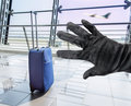 Stealing A Suitcase Stock Image - 88482421